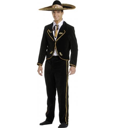 Disfraz mariachi mejicano adulto