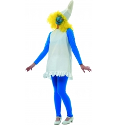 Smurfette ladies costume