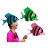 Chapéu peixe en cores diversos