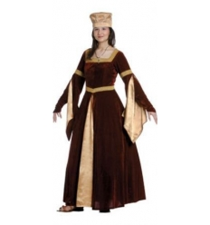 Queen blanca of navarra medieval costume