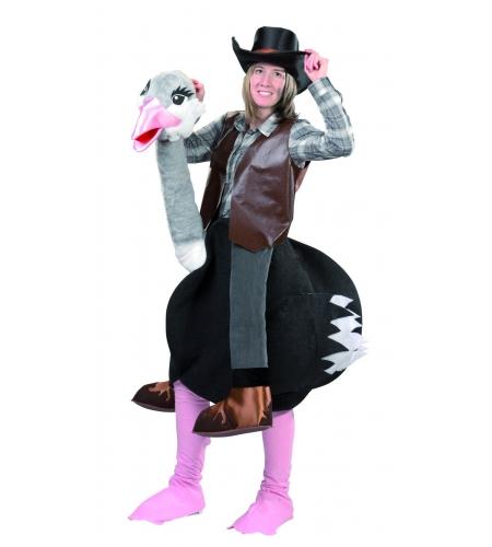 Disfraz avestruz