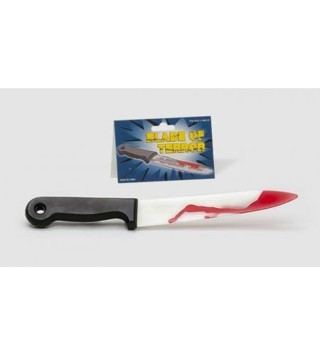 Cuchillo scream terror con sangre