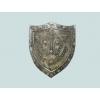 Escudo medieval em metal