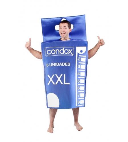"Condom""s box costume"
