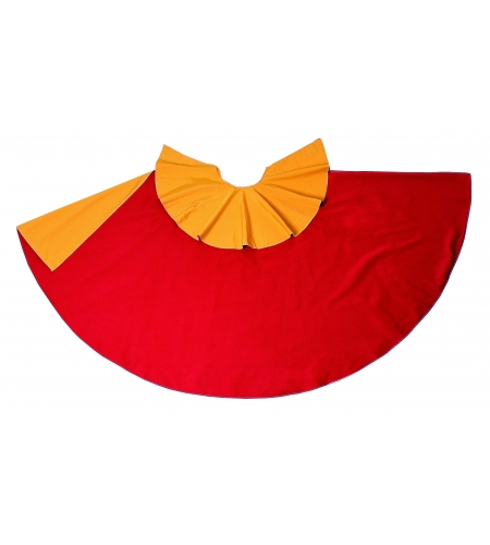Capote rojo-amarillo