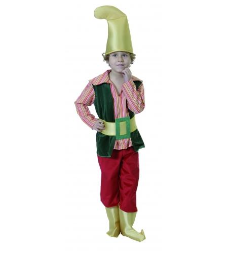 Disfraz gnomo enanito infantil