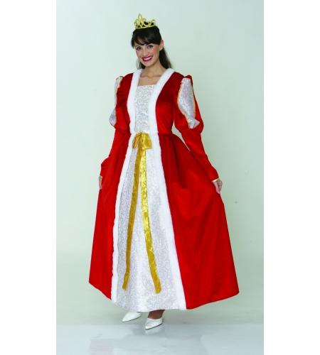 Queen ladies costume