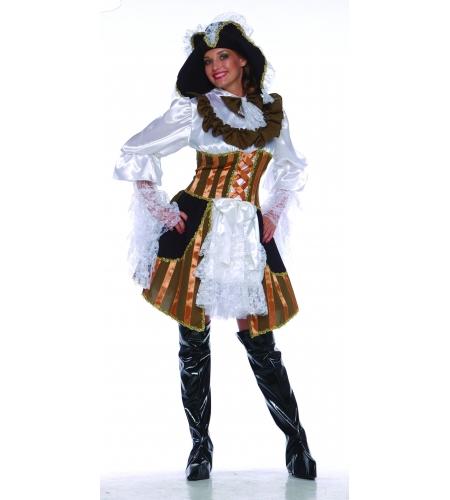 Pirate or buccaneer ladies costume