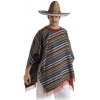 Adulto poncho mexicanos