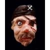 Pirata de borracha mask
