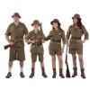 Familia explorador Safari