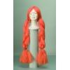 TranÇas maxi orange wig