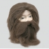 "Caveman""s wig and beard"