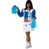 Disfraz cheerleader animadora hombre