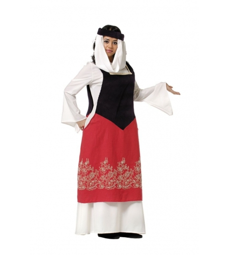 Fato medieval catalina mulher