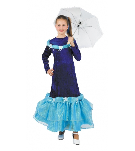 Glamour lady kids costume