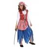 Buccaneer girl red costume