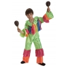 Rumba dancer kids costume